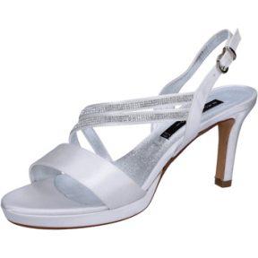 Σανδάλια Bacta De Toi sandali bianco raso strass BT845