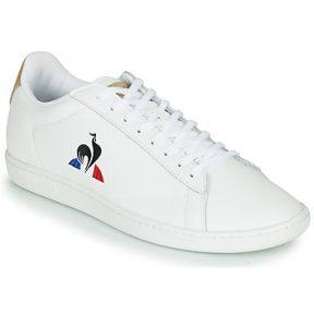Xαμηλά Sneakers Le Coq Sportif COURTSET ΣΤΕΛΕΧΟΣ: Δέρμα & ΕΠΕΝΔΥΣΗ: Ύφασμα & ΕΣ. ΣΟΛΑ: & ΕΞ. ΣΟΛΑ: Καουτσούκ