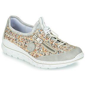 Xαμηλά Sneakers Rieker GRISSA ΣΤΕΛΕΧΟΣ: Συνθετικό & ΕΠΕΝΔΥΣΗ: Ύφασμα & ΕΣ. ΣΟΛΑ: Ύφασμα & ΕΞ. ΣΟΛΑ: Συνθετικό
