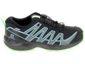 Xαμηλά Sneakers Salomon XA Pro 3D V8 CSWP K Noir Vert [COMPOSITION_COMPLETE]