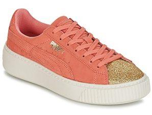 Xαμηλά Sneakers Puma SUEDE PLATFORM GLAM JR ΣΤΕΛΕΧΟΣ: Δέρμα & ΕΠΕΝΔΥΣΗ: Δέρμα & ΕΞ. ΣΟΛΑ: Καουτσούκ