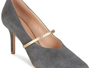 Γόβες KG by Kurt Geiger V-CUT-MID-COURT-WITH-STRAP-GREY