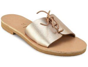 Δερμάτινη μεταλλική σαγιονάρα Iris Sandals IR8/8