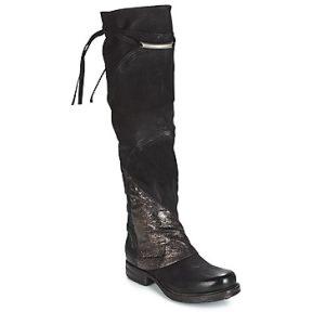 Ψηλές μπότες Airstep / A.S.98 SAINT EC PATCH ΣΤΕΛΕΧΟΣ: Δέρμα βοοειδούς & ΕΠΕΝΔΥΣΗ: Δέρμα βοοειδούς & ΕΣ. ΣΟΛΑ: Δέρμα βοοειδούς & ΕΞ. ΣΟΛΑ: Συνθετικό